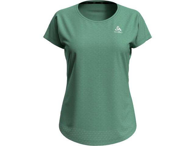 Odlo Millennium Crewneck T-shirt Dames, creme de menthe melange